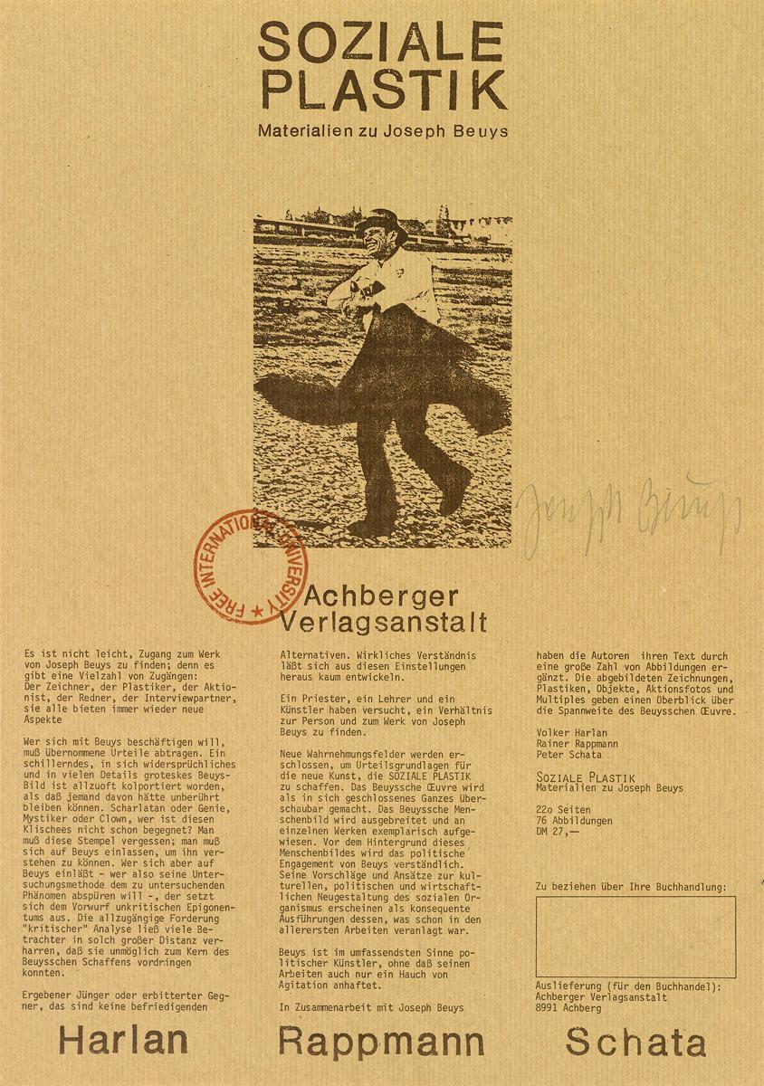 FONDAZIONE BONOTTO - Brecht, George - Advertising Posters
