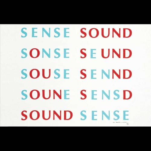 Sense Sound / Sound Sense. Fluxus Music, Scores & Records