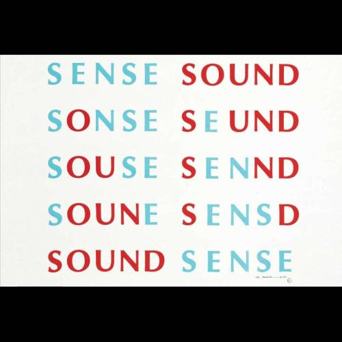 Sense Sound / Sound Sense. Fluxus music, scores and records