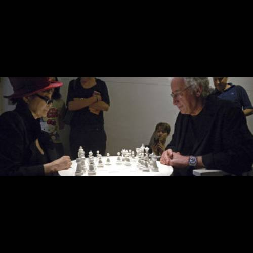 Anton's Memory: Yoko Ono and Luigi Bonotto play chess
